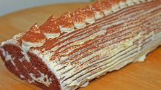 Tiramisu Tadında Rulo Pasta Tarifi