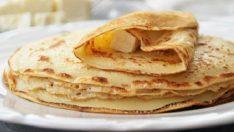 Kahvaltılık 5 Dakikalık Krep Tarifi