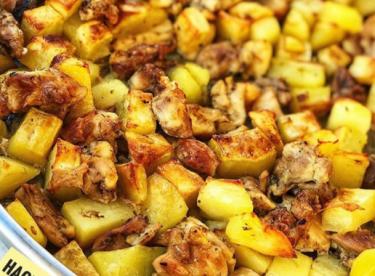 Fırında tavuk patates TARİFİ