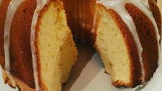 Limon soslu kek