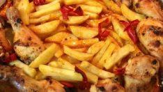 Fırında Patatesli, Soslu Tavuk