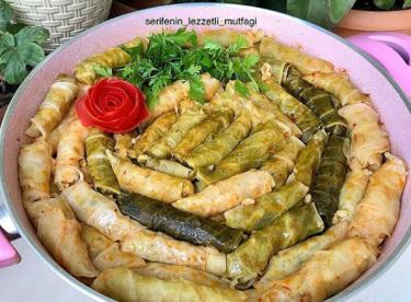 Kıymalı lahana sarması