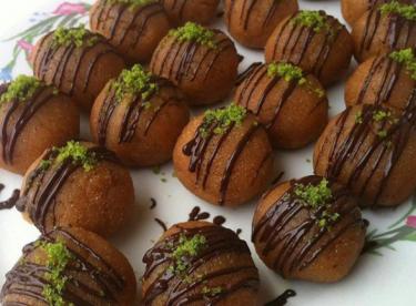 Çikolatalı Helva Topları