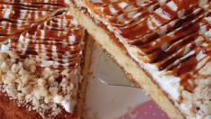 Karamelli tart kek tarifi