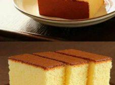 Pamuk ve pufuduk kek için malzemeler