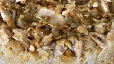 Sarımsaklı Tavuklu Pilav tarifi