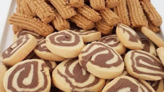 Renkli kurabiye tarifi