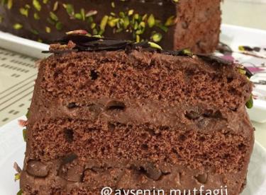 Çikolatalı Beton Pasta