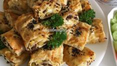 Patatesli Kıymalı Çıtır Börek